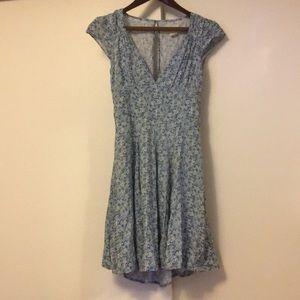 Ralph Lauren blue floral dress 6